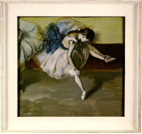 Degas Dancer au repos 1879 in original frame