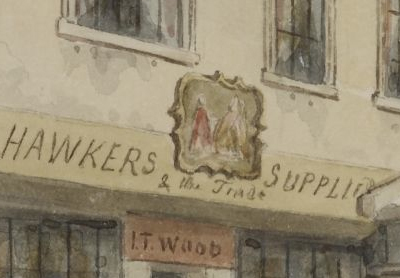 Thomas Hosmer Shepherd Holywell 1853 BM detail
