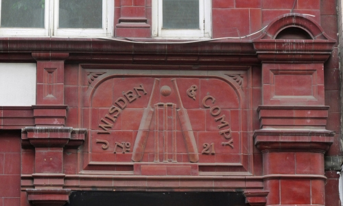 J Wisden & Co 21 Gt Newport Street over Leicester Square Tube Stn