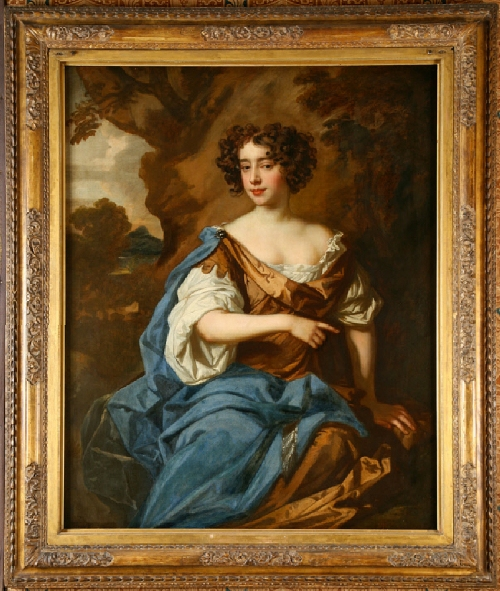 Lely studio of Catherine Sedley Countess of Dorchester c1675 Lyme Park NT