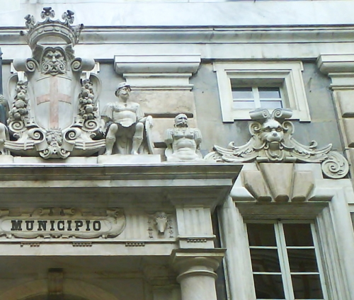 Palazzo Tursi portico 3