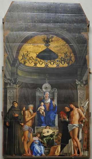 Bellini San Giobbe altarpiece sm