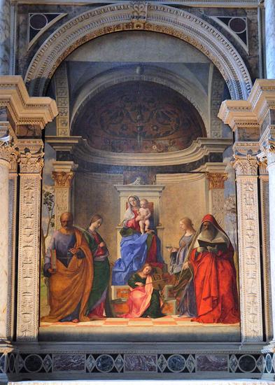 Bellini San Zaccaria altarpiece sm