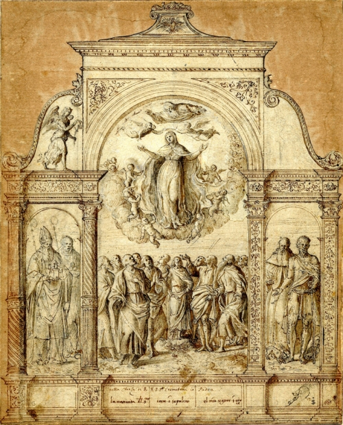 Benedetto Diana Assumption of the Virgin British Museum image sm