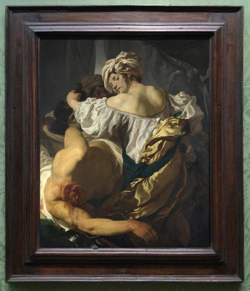 Johann Liss Judith in the tent of Holofernes c1622 NG ed