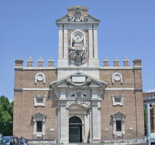 Michelangelo Porta Pia Rome