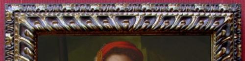 Pontormo Halberdier detail