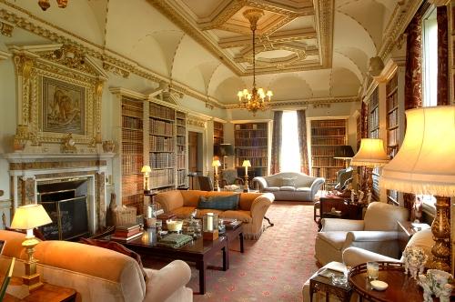 44 William Kent The Library Holkham Hall c1734to41 Holkham Estate sm