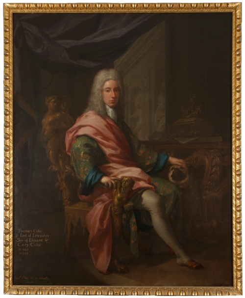 46 Francesco Trevisani Portrait of Thomas Coke 1717 Holkham Estate sm