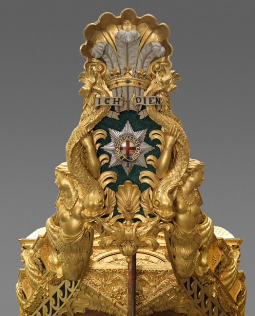 Royal Barge cartouche ed sm