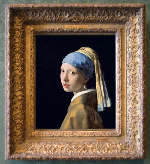Vermeer Girl with pearl ed