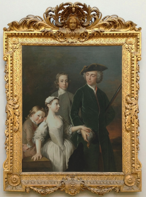 X Allan Ramsay Thomas 2nd Baron Mansel of Margam 1742 Tate ed sm