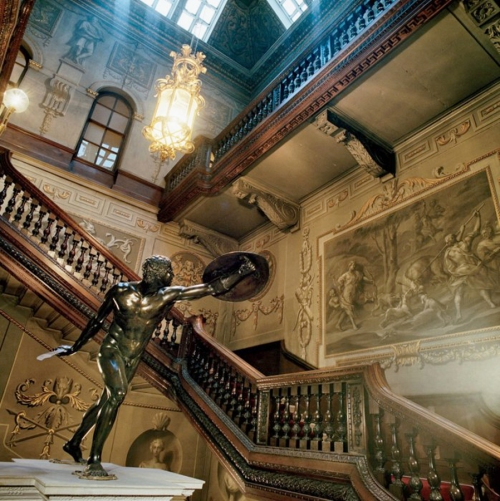 X Houghton Hall staircase Jonathan Becker