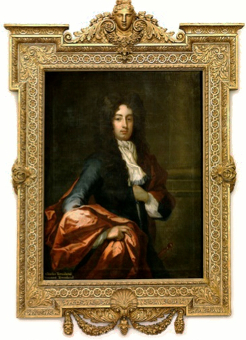 X Sir Godfrey Kneller Charles 2nd Viscount Townshend c1730 Raynham Hall