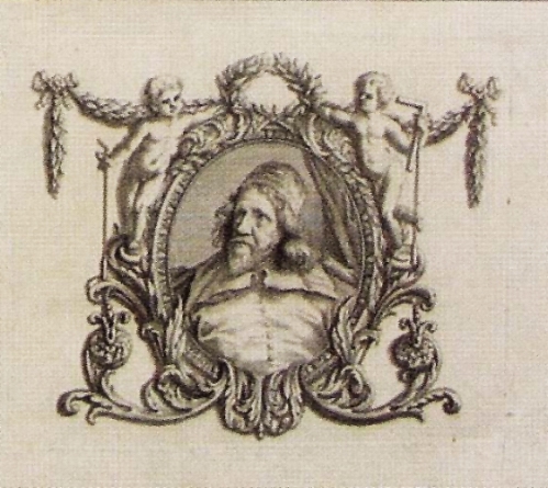 X Wm Kent The Designs of Inigo Jones Portrait detail