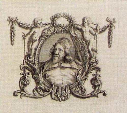X Wm Kent The Designs of Inigo Jones Portrait detail