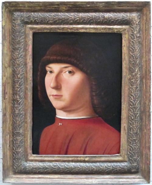 Antonello da Messina attrib Portrait of a young man c1475to80 NG of Art Washington sm