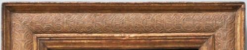 Bellini St Jerome NG detail top rail
