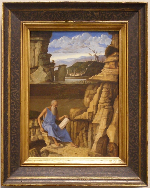Bellini St Jerome previous frame NG sm