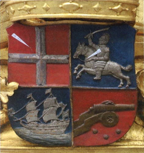 Coat of arms of Engel de Ruyter