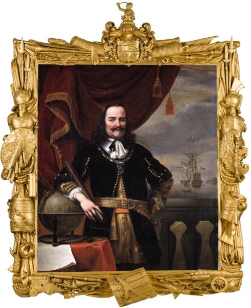 Ferdinand Bol & Willem van de Velde Michiel de Ruyter Mauritshuis sm