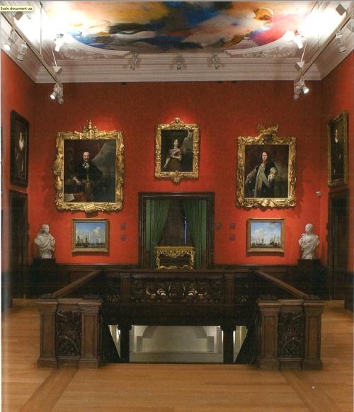 Mauritshuis trophy frames hang