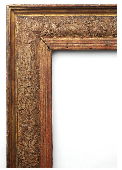 V & A Venetian cassetta frame detail