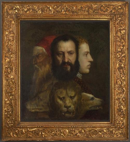 Venetian frame 1