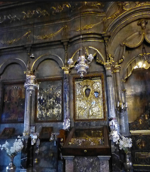 Iconostasis Church of the Panagia Lesbos Greece Photo Toby Garden sm
