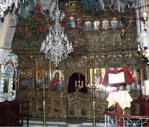Iconostasis Fragoulis Volisianos & Petros 1836 Ch St George Sikousis Chios sm