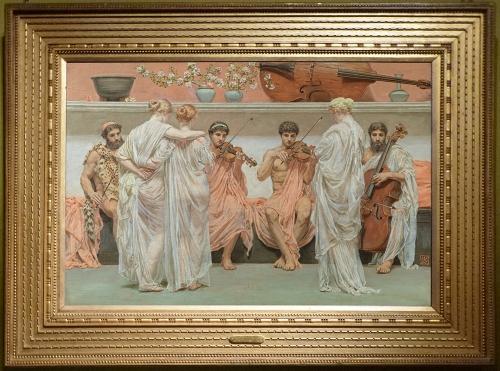 Albert Moore A Quartet A painter s tribute 1868 sm