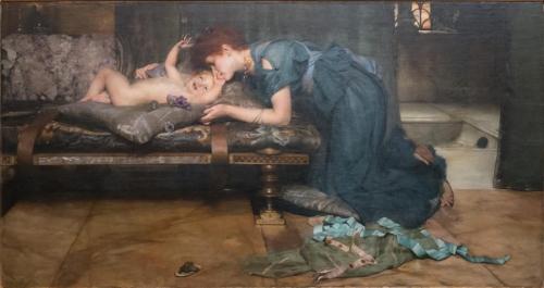 Alma Tadema Earthly paradise sm