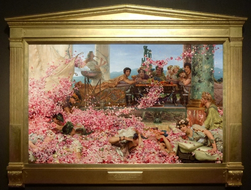 Alma Tadema The Roses of Heliogabalus 1888 B sm
