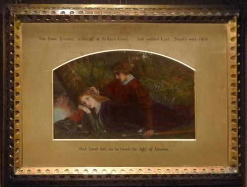 Arthur Hughes Enid and Geraint 1863 sm