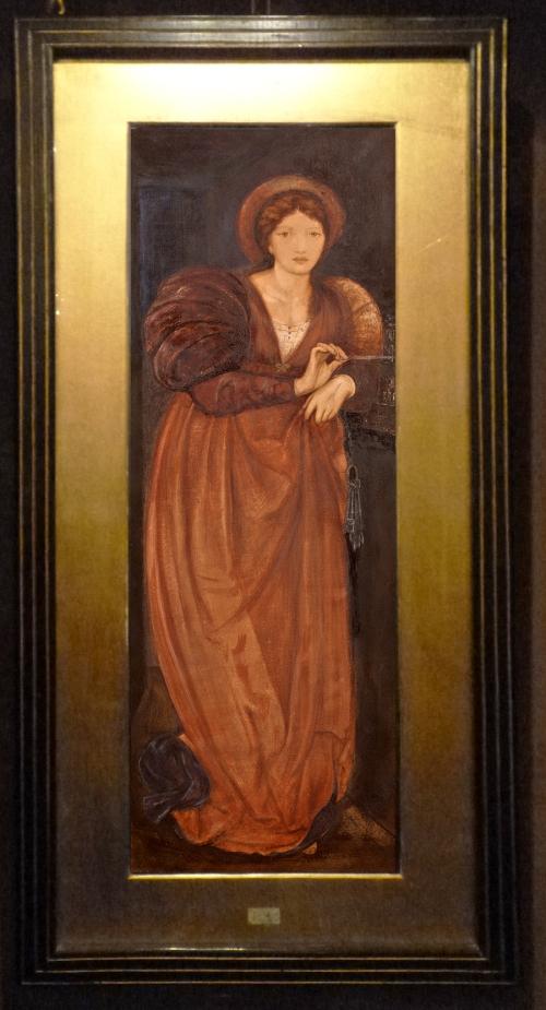 Burne Jones Fatima1862 Watercolour sm