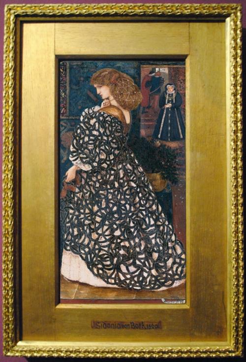 Burne Jones Sidonia von Bork 1860 Tate sm