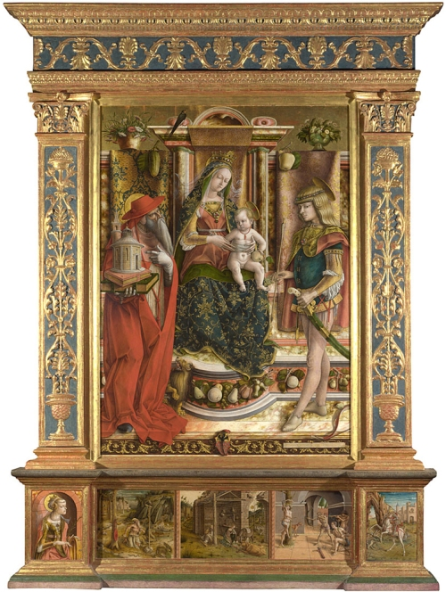 Crivelli Madonna della Rondine N0724 sm