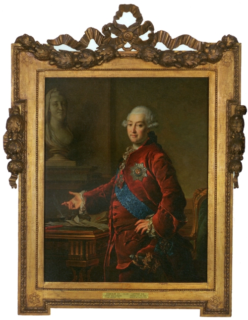 Dmitry Levitzky Portrait of Prince A Golitsyn 1772 sm