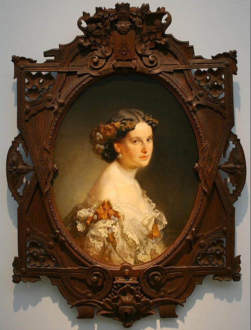 Ivan Makarov 1822to97 Portrait of a woman 1860 B