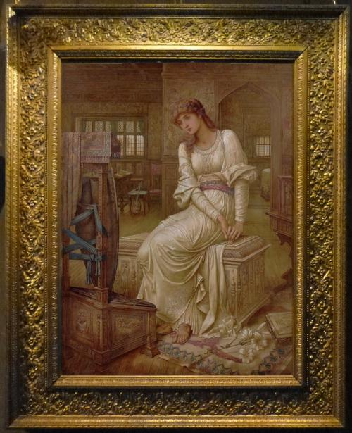 JM Strudwick Elaine c1891 sm