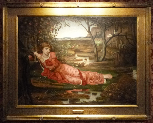 JM Strudwick Song without words 1875 sm