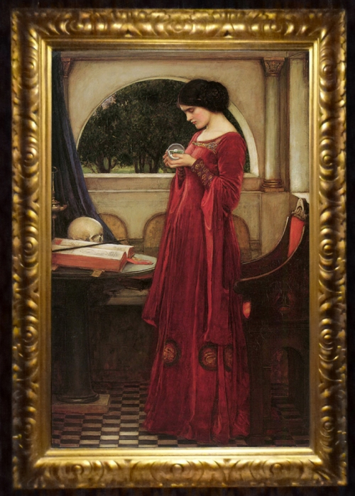JW Waterhouse The crystal ball 1902 sm