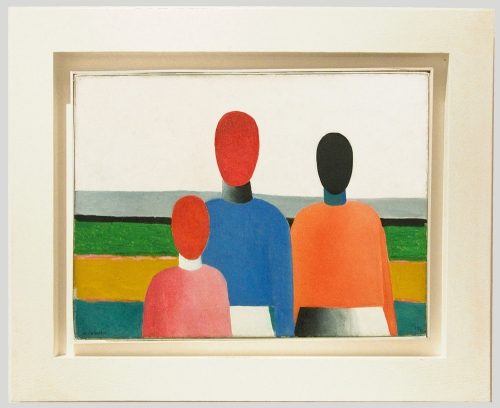 K Malevich Three female figures early 1930s Museum frame sm