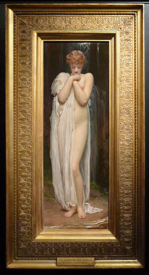 Leighton Crenaia the Nymph of the Dargle 1880 sm