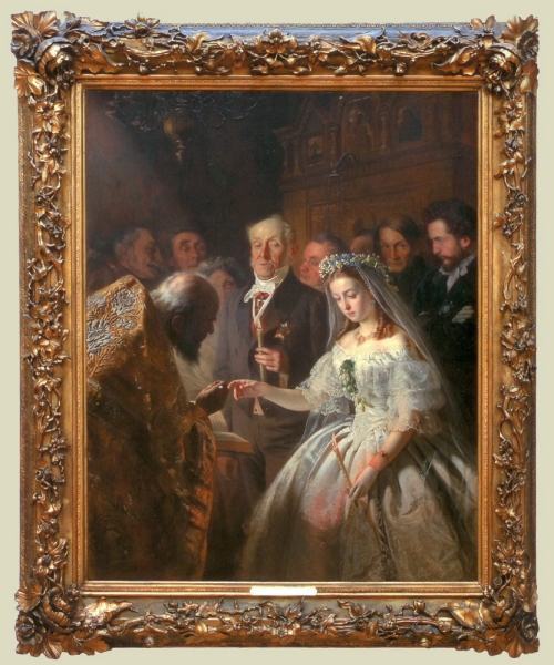 V Pukirev The Unequal Marriage 1862 sm