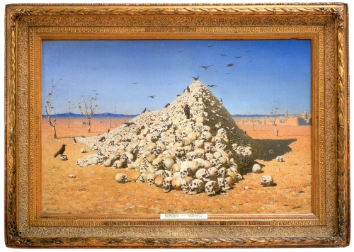 V Vereshchagin The Apotheosis of War 1871 ed sm