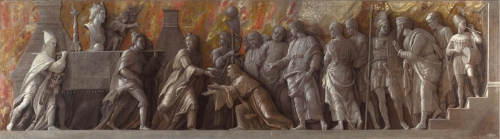 Andrea Mantegna The introduction of the cult of Cybele in Rome 1505to06 sm