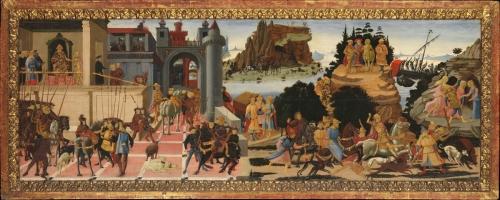 Biagio d Antonio Argonauts cassone panel c1465 Met Mus NY sm