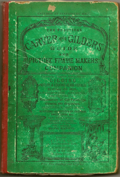 1 COVER of Practical carver & gilder sm