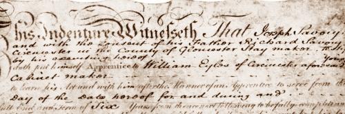 4 Joseph Savory Indenture 1808 extract ed sm